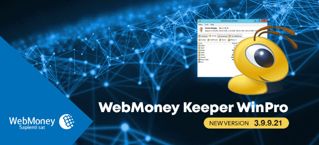NEW WEBMONEY KEEPER WINPRO VERSION 3.9.9.21